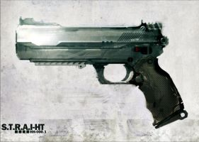 GUN speed paint gun - STRAIHT by torvenius