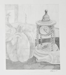 3 Objects Drawing by LaurenGraceArt