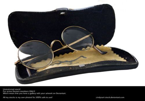 Eye Glasses In Box by cindysart-stock by CindysArt-Stock