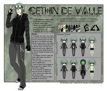 [Ref] Cethin de Valle by Gothamed