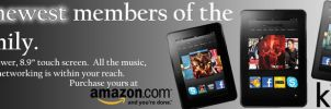 Kindle Fire Web Banner by KriticKilled