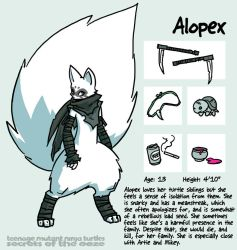 Secrets Of The Ooze: Alopex by mooncalfe