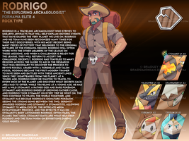 Rodrigo - The Exploring Archaeologist by BradSimonian