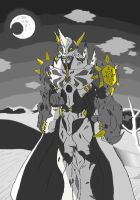 Hollow Omnimon (Colored) by Omnimon1996