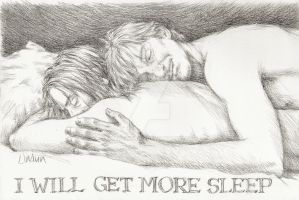 I Will Get More Sleep by sketchport