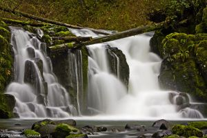 Crystal Falls by 11thDimensionPhoto