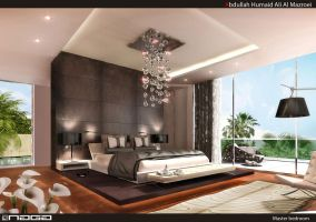 master bedroom by aboushady81