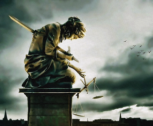 Death of the Justice by Quadraro
