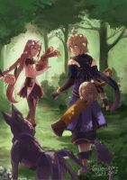Tales of Symphonia Knights of Ratatosk by tinysaucepan