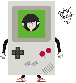 Lucy Loud the Game Boy (or Game Girl?) by FromEquestria2LA