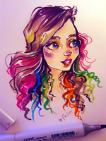 Colour Inktober #14 RGD by FinaSusu