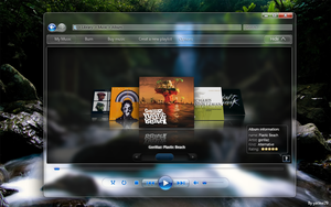 windows media player concept by yacine29