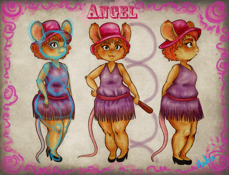 Angel The Mouse Two by MadzSan