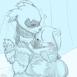 Fluffy Wintertime Kisses by RymNotrim