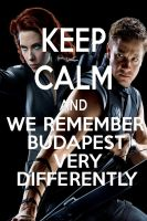 KEEP CALM AND WE REMEMBER BUDAPEST by AMEH-LIA