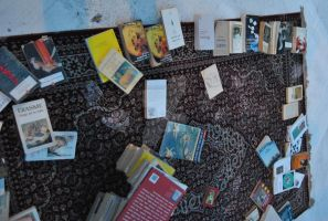 carpet with books 2 by LittleCuteWitch