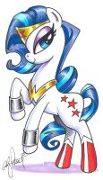 Wonder Pony, My Little Pony by andypriceart