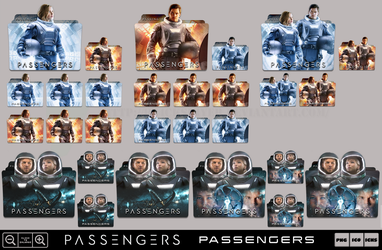 Passengers (2016) Folder Icon Pack by Bl4CKSL4YER