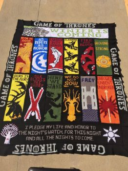 Game of Thrones Crochet Blanket, Afghan, Graphghan by JosephineRoeper