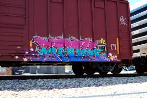 Train Graffiti 18 by doublegx3
