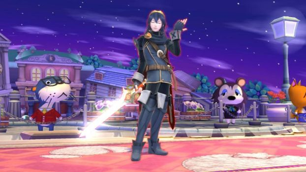 Lucina being fabulous by user15432