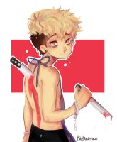 I stab back| killing stalking  by Bluebiscuits