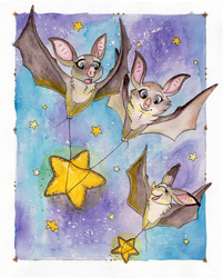 Starry Flight by TheVerdantHare