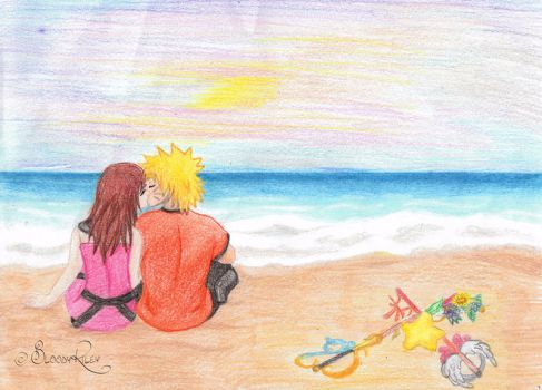 xover Naruto and Kairi by BloodyRiley