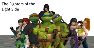 TMNT - Fateful Life - The Heroes by SilverMoonCrystal