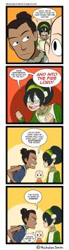 Fandumb #102: They Dated So He Knows (Avatar) by Neodusk
