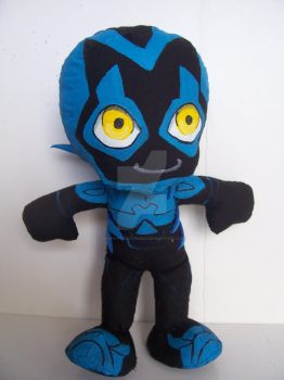 Blue Beetle: Handmade Plushie from Young Justice by Yoshi-Productions