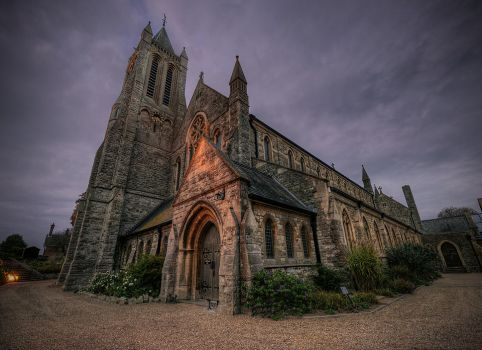 Hanging Around Church Corners by wreck-photography