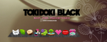 Skin for rocketdock Tokidoki Black by JhoannaResources