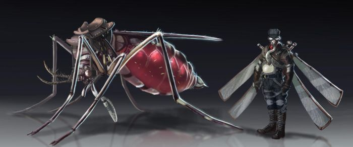Mosquito Steampunk by Deadpoolrus