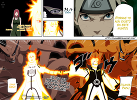 Naruto Manga 643 Double attack by Itachis999