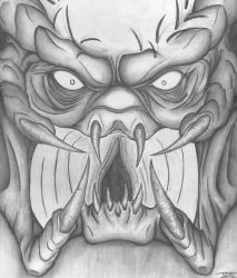 You are one ugly MuthaFukka by BD3illustrations