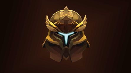 OMNIKNIGHT Dota 2 Low Poly Art by giftmones