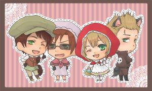APH - Little Red Riding Hood by rukaxxx