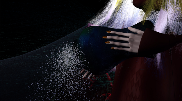 Scattering ashes test animation by suki42deathlake