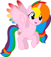 Vector #594 - Rainbow Splash by DashieSparkle