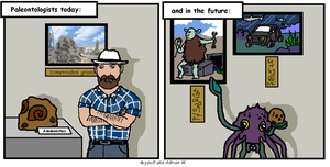Paleontologists today future by yoult