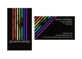 2009 Business Card by SARAHXIII