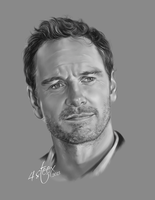 Michael Fassbender by 4steex