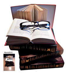 book stock by MariaRaute2