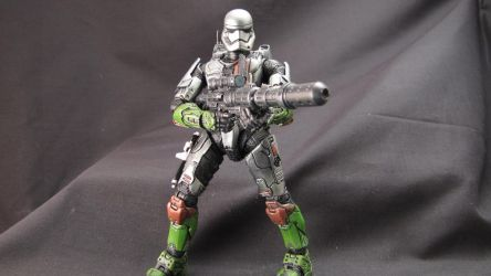 First Order Spartan Commando by clem-master-janitor