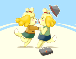 Double Isabelle! by Mewscaper