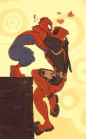 SpideyPool losers by SebbysGirl13