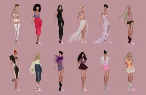 Fashion designs by Lideeh 2 by Lideeh