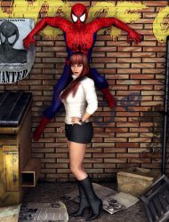 MJ... oh, and Spidey too by ozzboyd