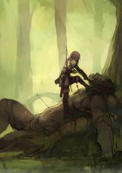 The Hunters of Enyr by faustsketcher